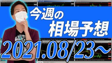 ドル円、ユーロ円、ユーロドルの相場予想【2021年8月23日~8月27日】