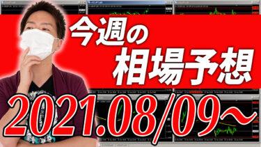 ドル円、ユーロ円、ユーロドルの相場予想【2021年8月9日~8月13日】